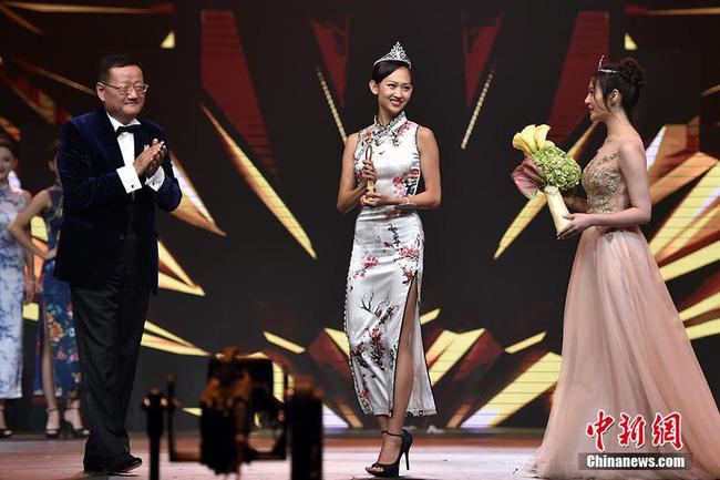 Nhan sắc Tân Hoa hậu Hoàn cầu Trung Quốc gây tranh cãi 4