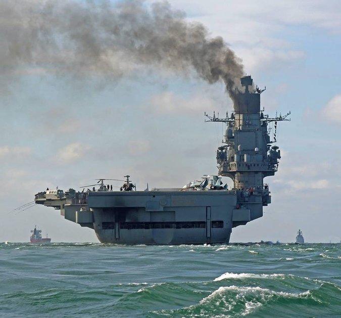 Nga triển khai tàu sân bay: Mạo hiểm kỹ thuật để phô diễn cơ bắp 3