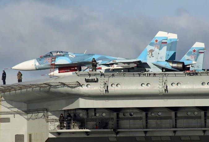 Nga triển khai tàu sân bay: Mạo hiểm kỹ thuật để phô diễn cơ bắp 2