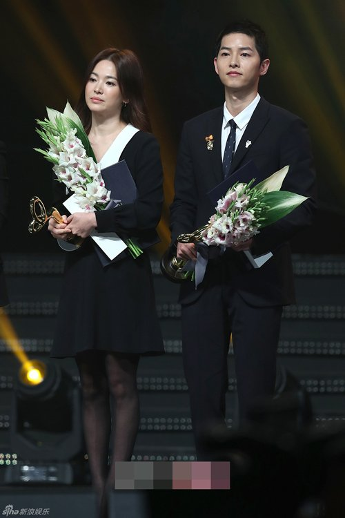 Song Hye Kyo – Song Joong Ki giành giải thưởng lớn tại Hàn Quốc 6
