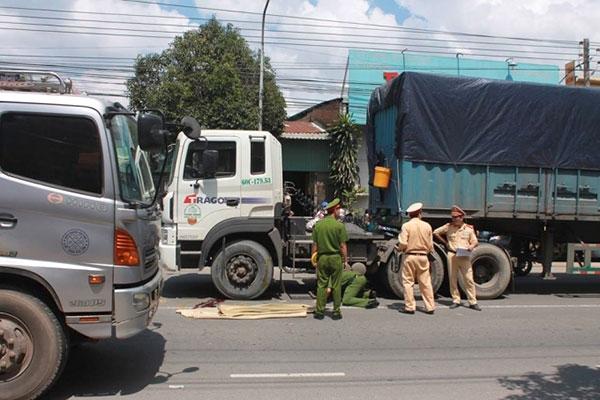 Tin TNGT ngày 28/10: Va chạm container, nữ sinh lớp 11 chết thảm 2