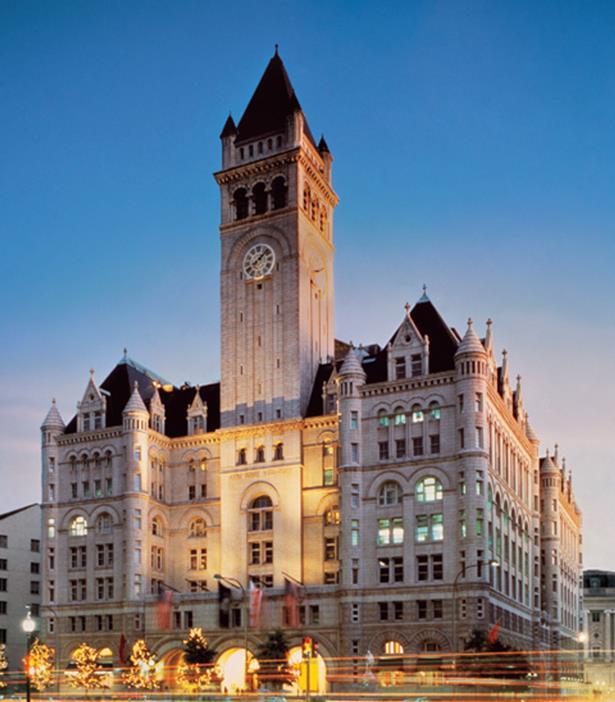 Tận mục sở thị khách sạn mới khai trương của ứng cử viên Tổng thống Donald Trump  1