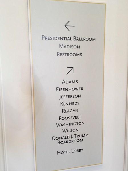 Tận mục sở thị khách sạn mới khai trương của ứng cử viên Tổng thống Donald Trump  9