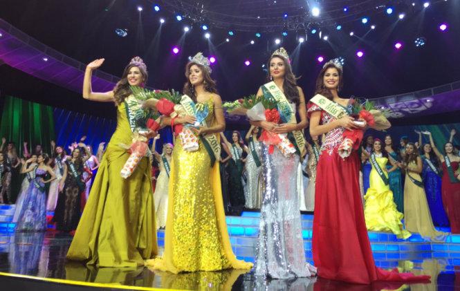 Nam Em lọt vào top 8, đại diện Ecuador đăng quang Hoa hậu Trái Đất 2016 7