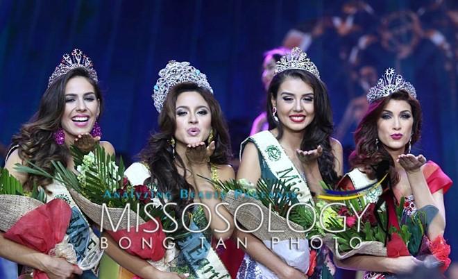 Hoa hậu Trái Đất 2016 bị tố ngủ với nhà tài trợ để lấy vương miện 1