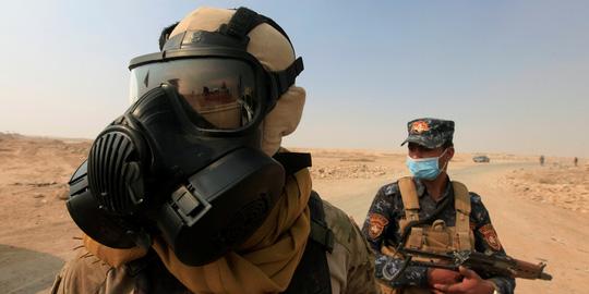 IS tạo mây acid tấn công Trung Đông 1