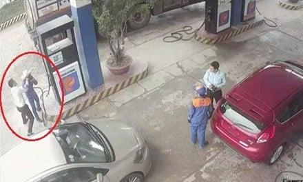 Trần tình của cán bộ ngân hàng đánh nữ nhân viên cây xăng 1