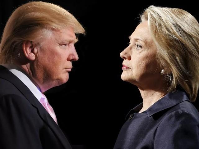 Trump bất ngờ vượt lên dẫn trước Hillary Clinton 1