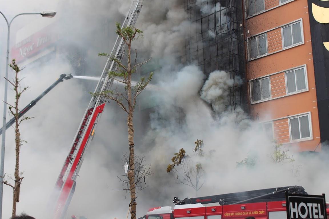 Cháy dãy Karaoke ở Hà Nội: Một cơ sở mới khai trương hơn 3 tuần 1
