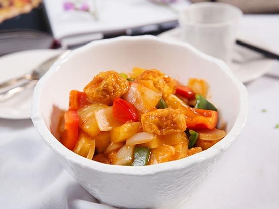 Mách bạn cách mới làm đậu phụ sốt chua ngọt cực ngon miệng 10