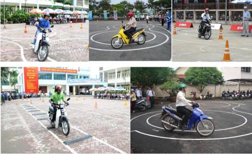 Mách bạn những địa điểm học bằng lái xe máy uy tín ở Hà Nội 2