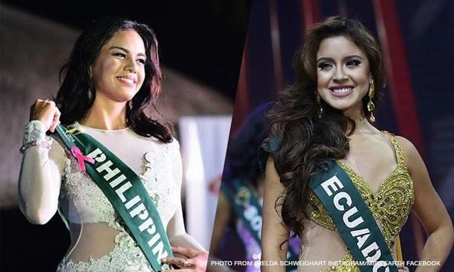 Hoa hậu Philippines trả vương miện sau khi nói xấu Tân Hoa hậu Trái Đất 1