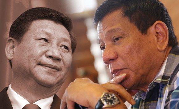 Duterte đang ngấm ngầm đối đầu Trung Quốc  1