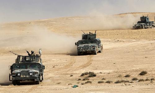 Hàng chục nghìn dân thường bị IS dồn ra chiến tuyến làm lá chắn sống 1