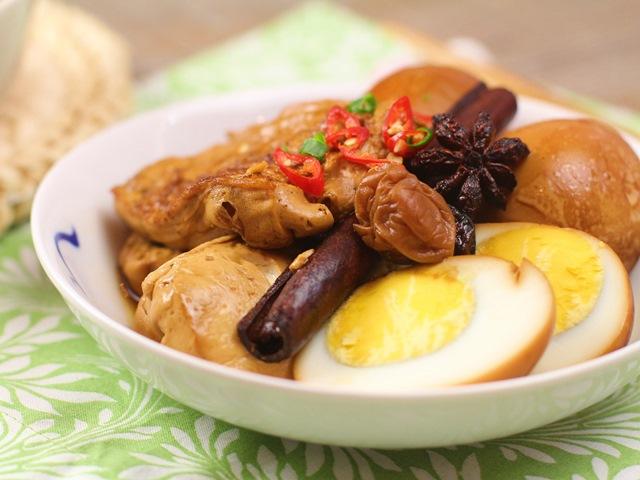 Đậu phụ kho trứng món ăn ngon ngày lạnh 6