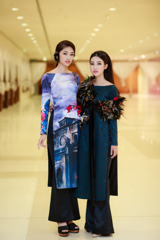 Hoa hậu Mỹ Linh, Á hậu Thanh Tú hoá Tấm - Cám trên thảm đỏ thời trang 1