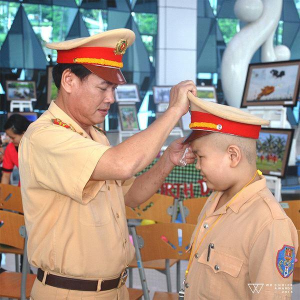 Cậu bé ung thư ước mơ làm CSGT ở Đã Nẵng qua đời 2