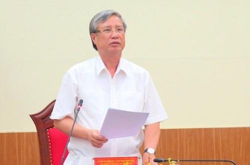 Chủ nhiệm UB Kiểm tra Trung ương nói về việc kỷ luật ông Vũ Huy Hoàng 1