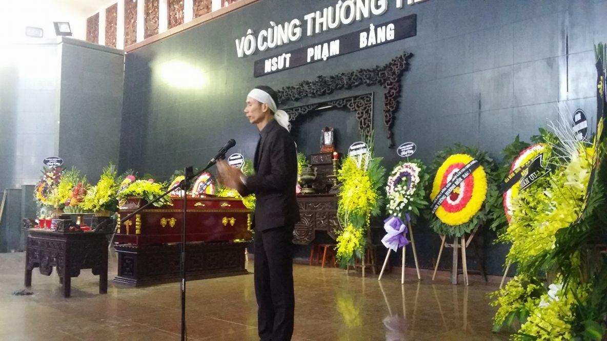 Lễ tang NSƯT Phạm Bằng: Con cháu, đồng nghiệp khóc nghẹn bên linh cữu 7