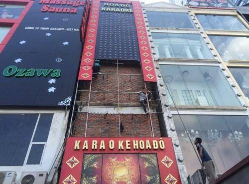 Hà Nội đình chỉ hàng loạt quán karaoke không đủ điều kiện PCCC 1