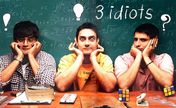 Ba chàng ngốc- Bộ phim Ấn giúp bạn thêm động lực cuộc sống 1