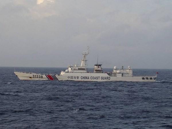 Tàu hải cảnh Trung Quốc ngang nhiên xâm phạm vùng biển Nhật Bản 2