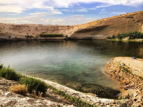 Sa mạc bất ngờ xuất hiện một hồ nước lớn chỉ sau một đêm 3