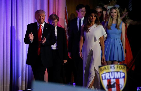 Bài phát biểu chiến thắng của tổng thống mới đắc cử Donald Trump 3