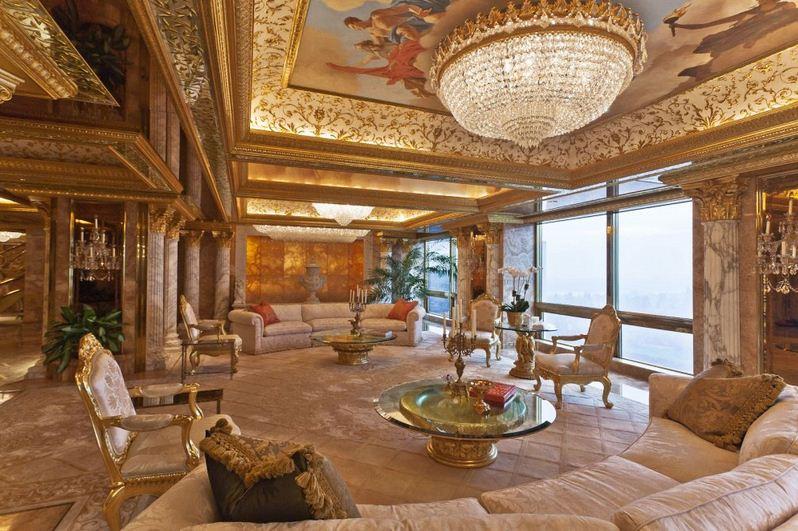 Lóa mắt trước biệt thự, khách sạn siêu xa xỉ của ứng viên tổng thống Mỹ Donald Trump 2