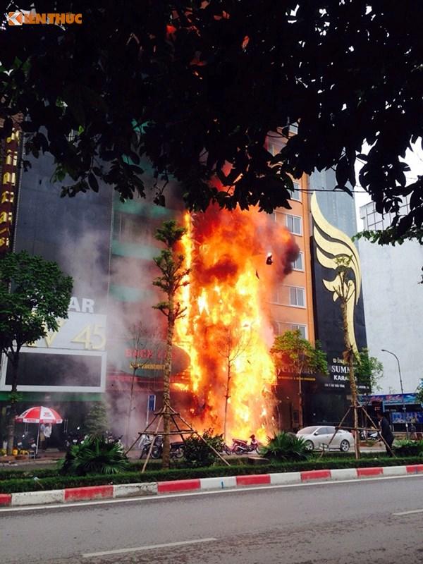 Vụ cháy dãy quán Karaoke Trần Thái Tông: Kết quả điều tra ban đầu  1