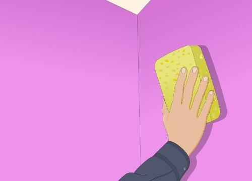 Làm sạch vết bẩn trên tường với 4 mẹo đơn giản 4