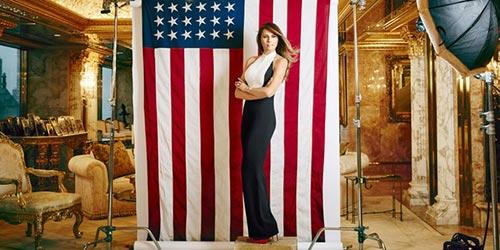 Chân dung người vợ siêu mẫu của tân Tổng thống Donald Trump 4
