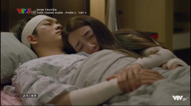 Tuổi Thanh Xuân 2 tập 3: Kang Tae Oh tỉnh lại nhưng quên mất người yêu Nhã Phương 14