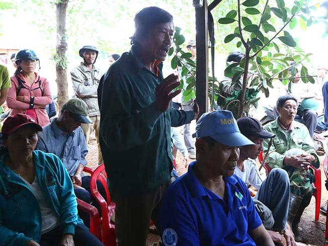 Vụ xả súng ở Đắk Nông: Xem xét khởi tố Công ty Long Sơn 1