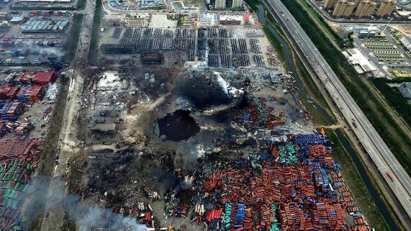 Trung Quốc kết án tử doanh nhân liên quan đến thảm họa Thiên Tân 1