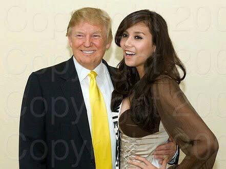 Siêu mẫu Việt từng chụp ảnh cùng tổng thống Mỹ mới đắc cử Donald Trump 1