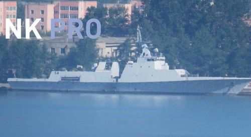 Lộ diện tàu chiến tàng hình tối tân của Triều Tiên 1