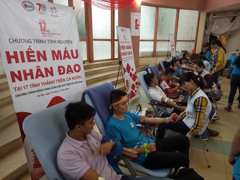 Hiến máu nhân đạo tại 17 tỉnh thành trên cả nước -  Festval trái tim nhân ái 2