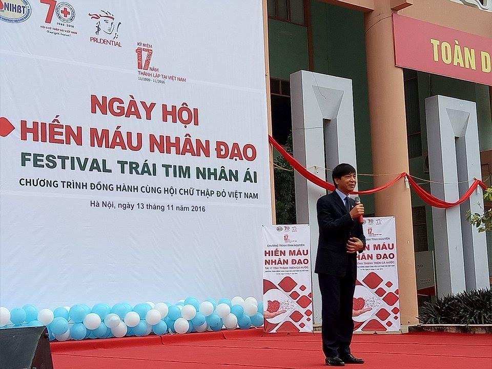 Hiến máu nhân đạo tại 17 tỉnh thành trên cả nước -  Festval trái tim nhân ái 3