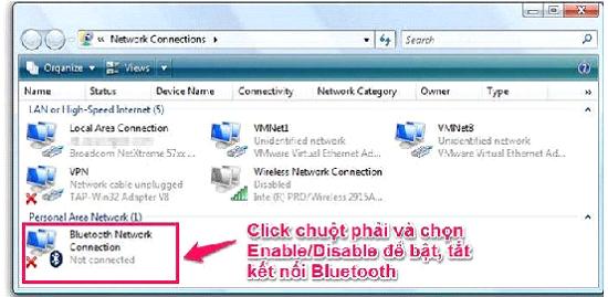 Cách sử dụng bluetooth laptop Toshiba nhanh và hiệu quả nhất. 3