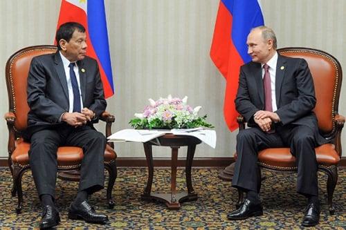 Gặp Putin, tổng thống Philippines tố phương Tây 'ức hiếp', 'đạo đức giả' 1