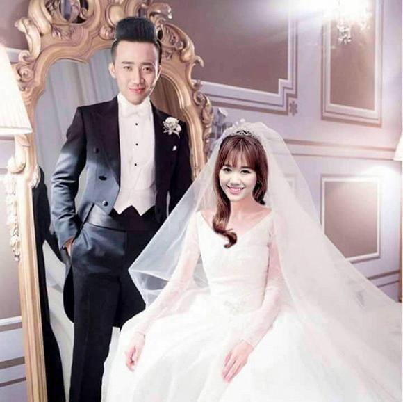 Lộ thiệp cưới của Trấn Thành và Hari Won, đám cưới tổ chức 25/12 2