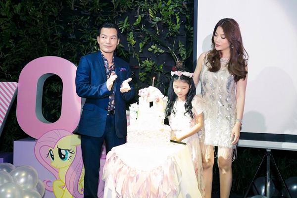 Trương Ngọc Ánh, Trần Bảo Sơn tái hợp trong ngày sinh nhật con gái 2