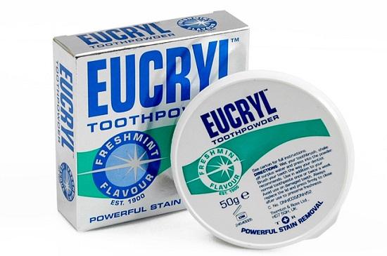 Bột làm trắng răng eucryl có tốt không? 1