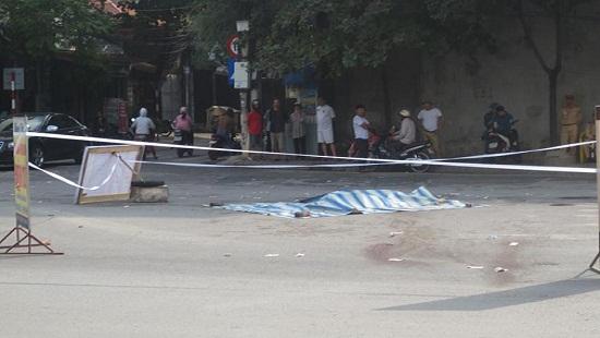 Hình ảnh Truy sát giữa phố Hải Dương, 1 thanh niên bị đâm tử vong số 1