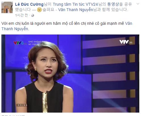 Sao Việt và khán giả đồng loạt động viên Vân Hugo 6