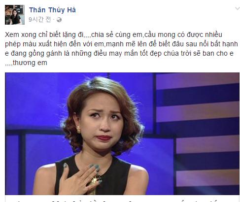 Sao Việt và khán giả đồng loạt động viên Vân Hugo 3