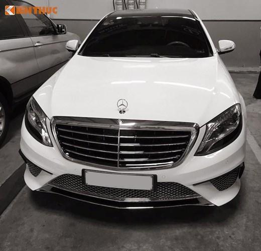 Dân chơi Sài thành chi tiền độ xe cũ thành Mercedes S65 12 tỷ 1