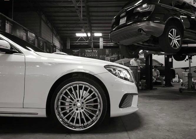 Dân chơi Sài thành chi tiền độ xe cũ thành Mercedes S65 12 tỷ 3