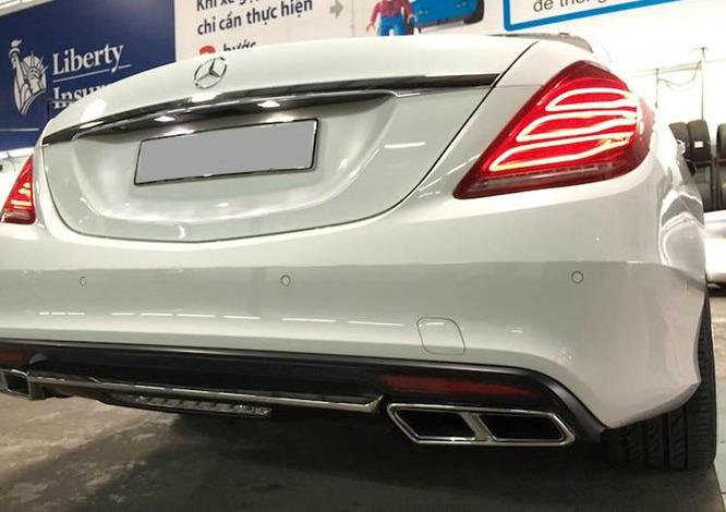 Dân chơi Sài thành chi tiền độ xe cũ thành Mercedes S65 12 tỷ 4